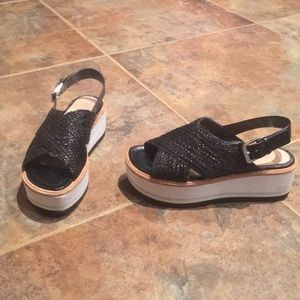 Zara sandals in size 5